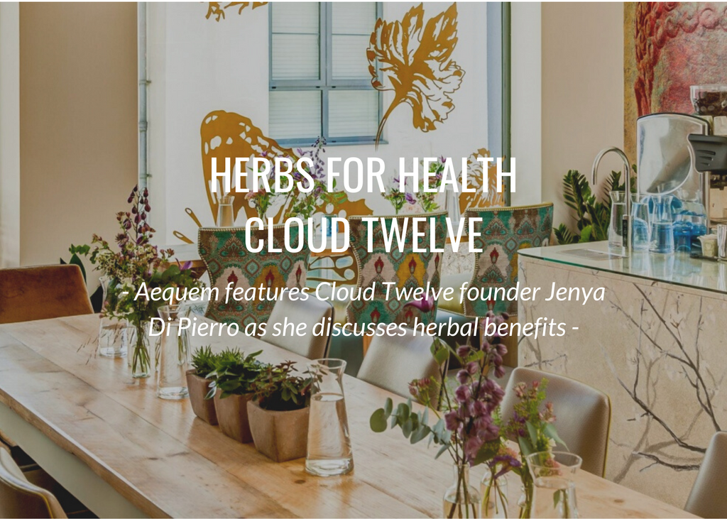 Cloud Twelve Founder, Jenya Di Pierro on Herbs for Health