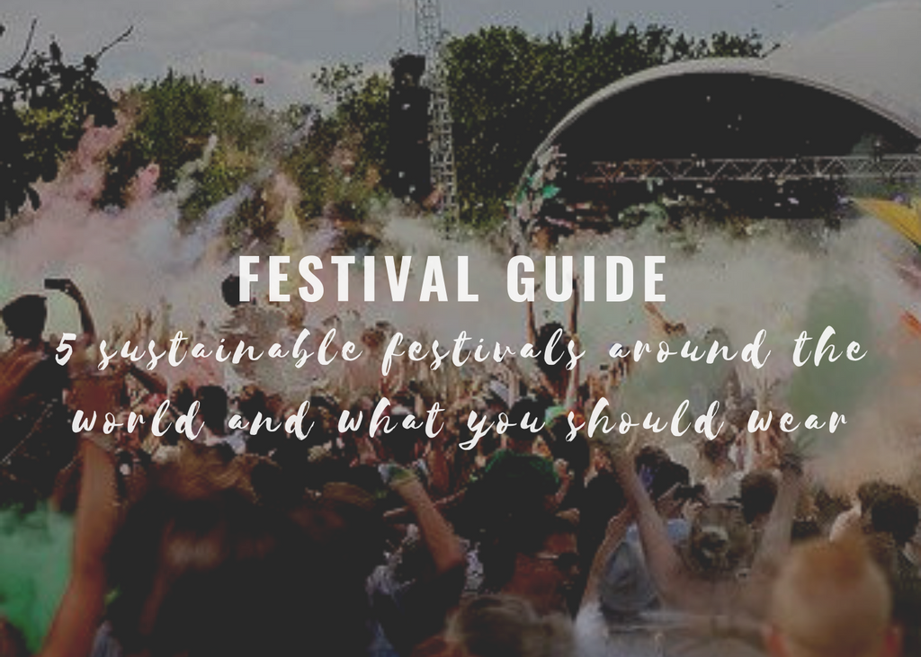Festival Guide: 5 Sustainable Summer Festivals & What You Need