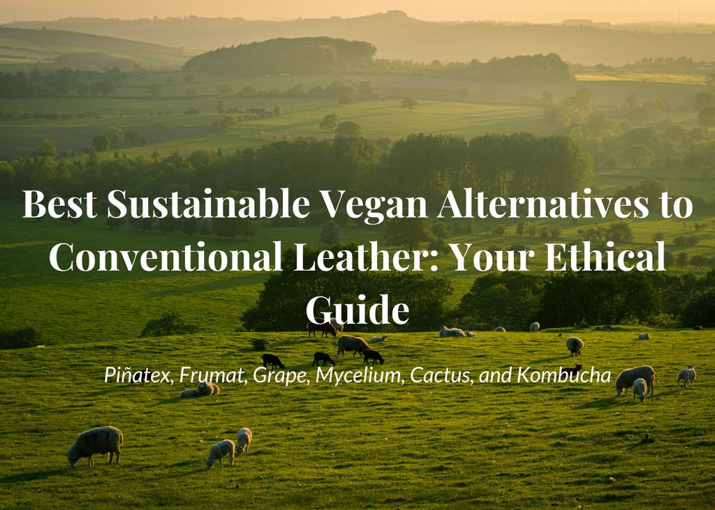 Vegan Sustainable alternatives to leather Aequem.com