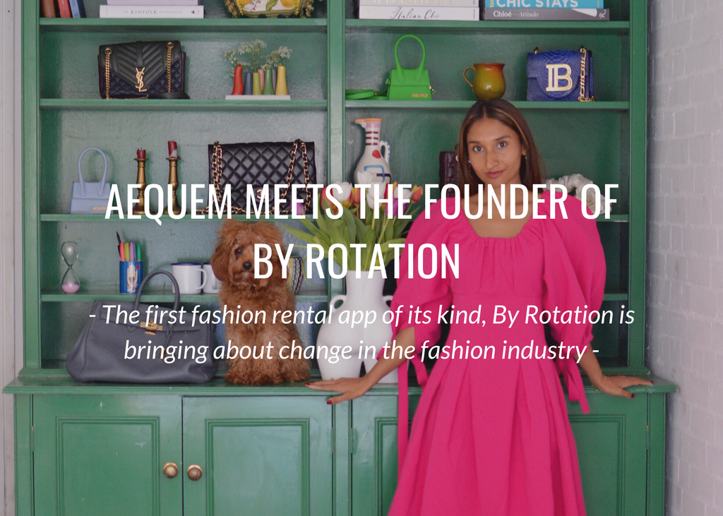 Meet the founder of the UK's first fashion rental app - By Rotation.
