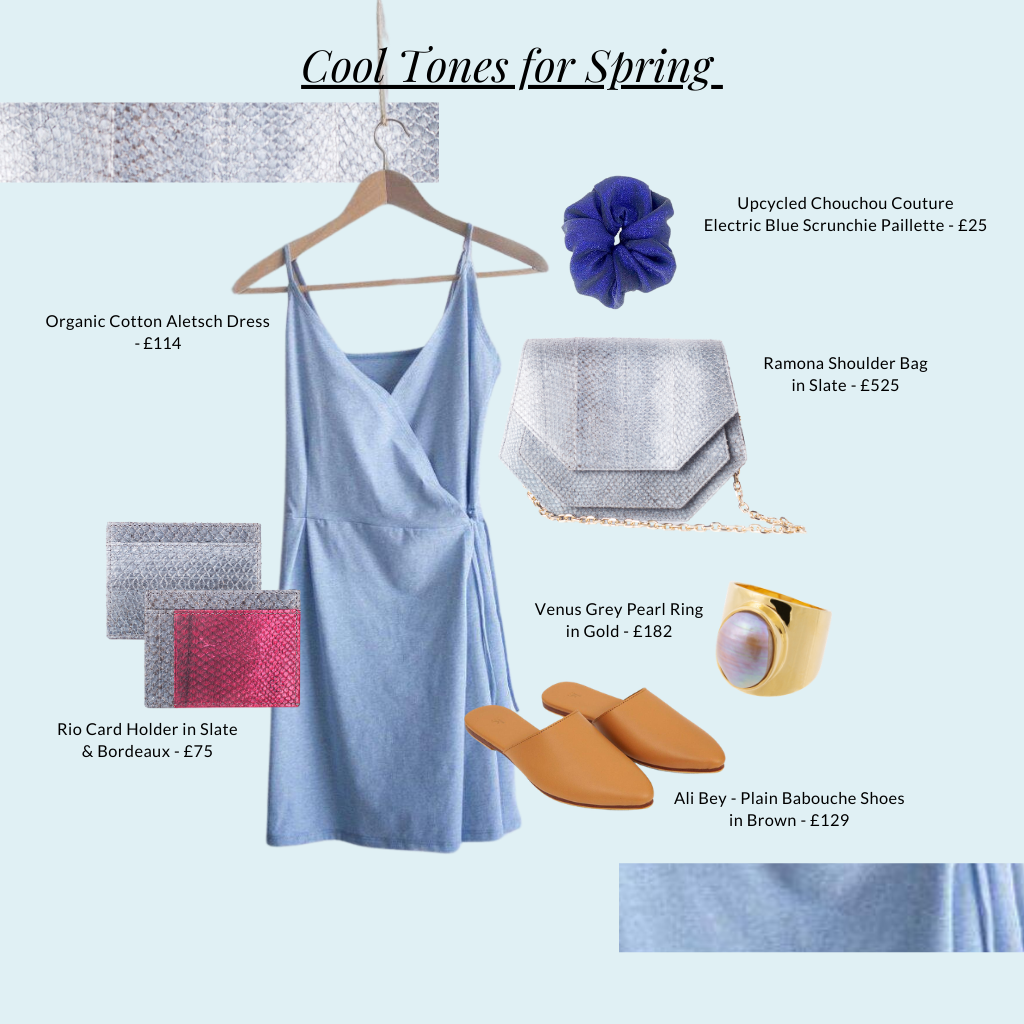 Cool tones for Spring outfit