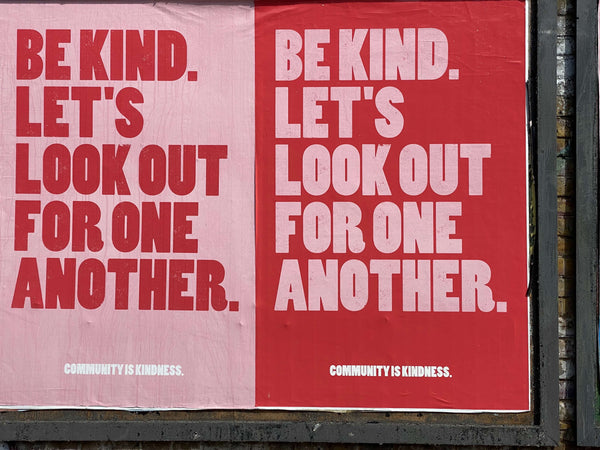 Be Kind Community Lucy Kebbell Aequem.com