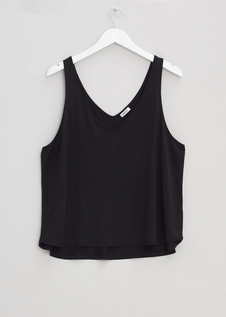 Silk Top - Black