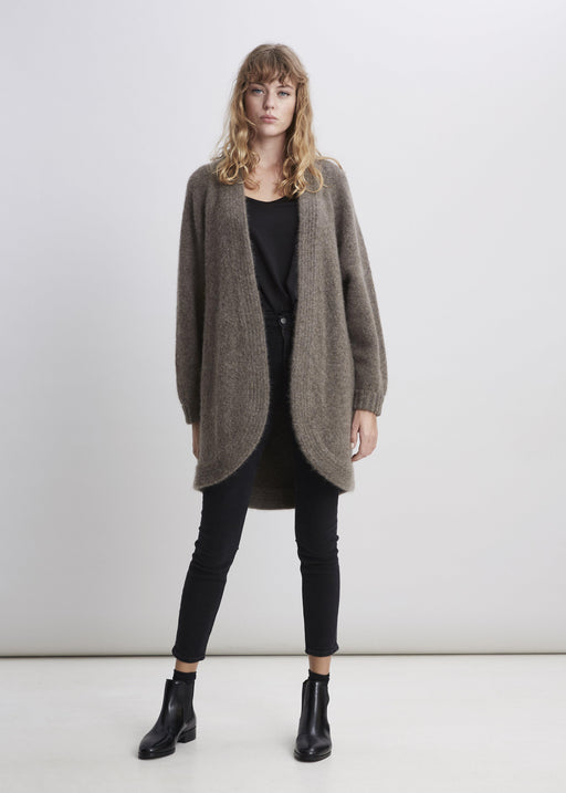 Chunky Cardigan - Brown