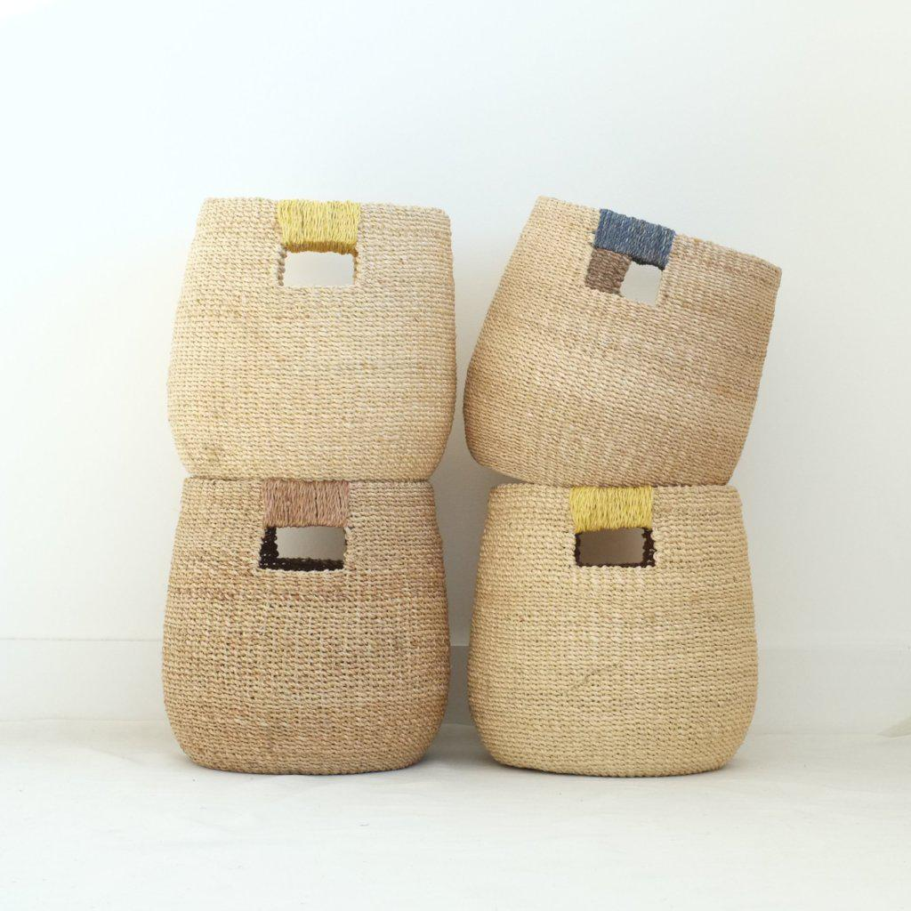 INNÉ Studios-Becca Bucket Basket- Sustainable -aequem.com