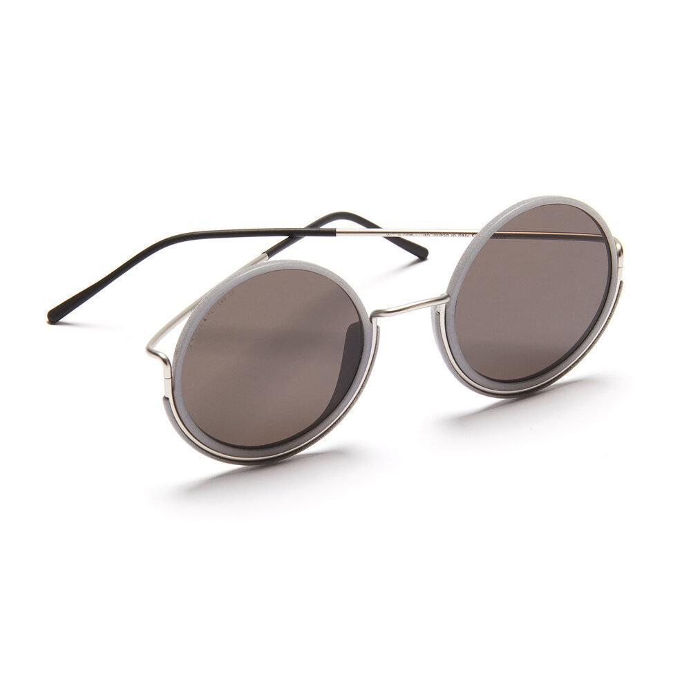 Aequem.com Shop Men's Ethical Fashion & Men's Sustainable Fashion 180º Glasses in Silver/Grey/Grey-Glasses-Wire Glasses (UK)