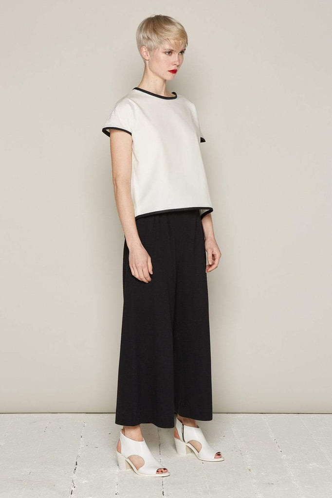 Aequem.com Shop Women's Ethical Fashion & Women's Sustainable Fashion Andrea Top - White-Tops-Bo Carter (UK)