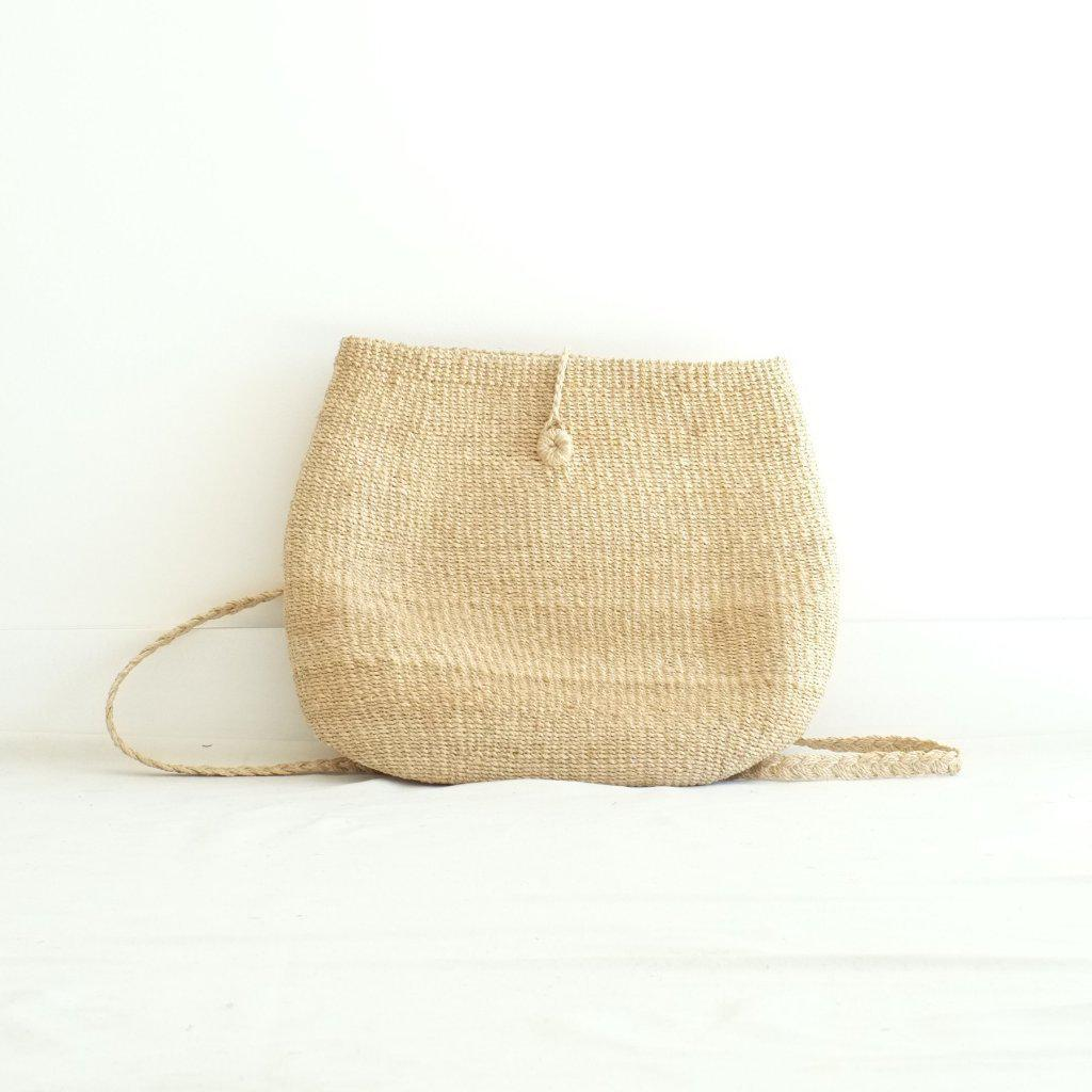 Aequem.com Shop Women's Ethical Fashion & Women's Sustainable Fashion Anita Backpack - Natural-Backpacks-INNÉ Studios