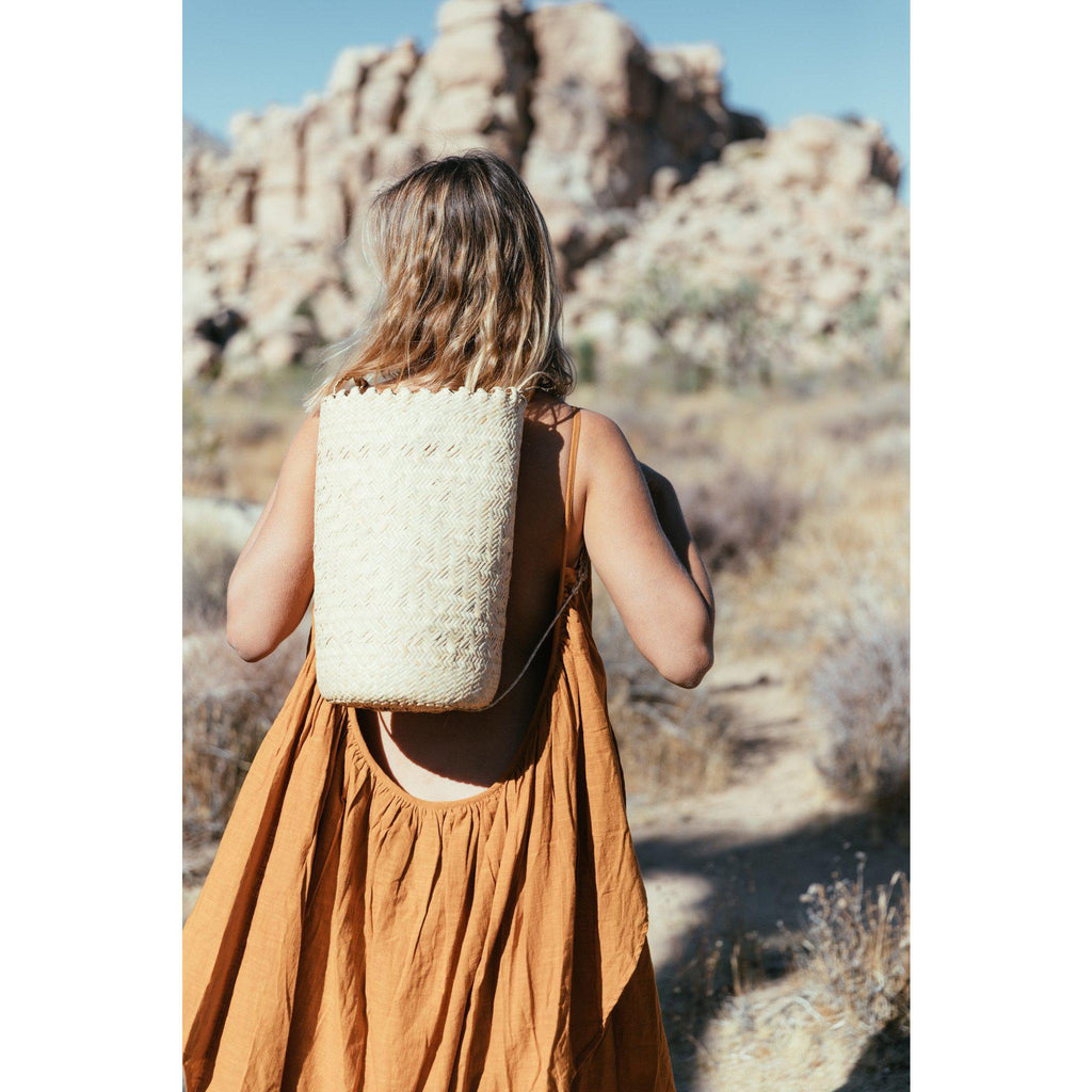 Aequem.com Shop Women's Ethical Fashion & Women's Sustainable Fashion Borneo Backpack-Backpacks-A Perfect Nomad