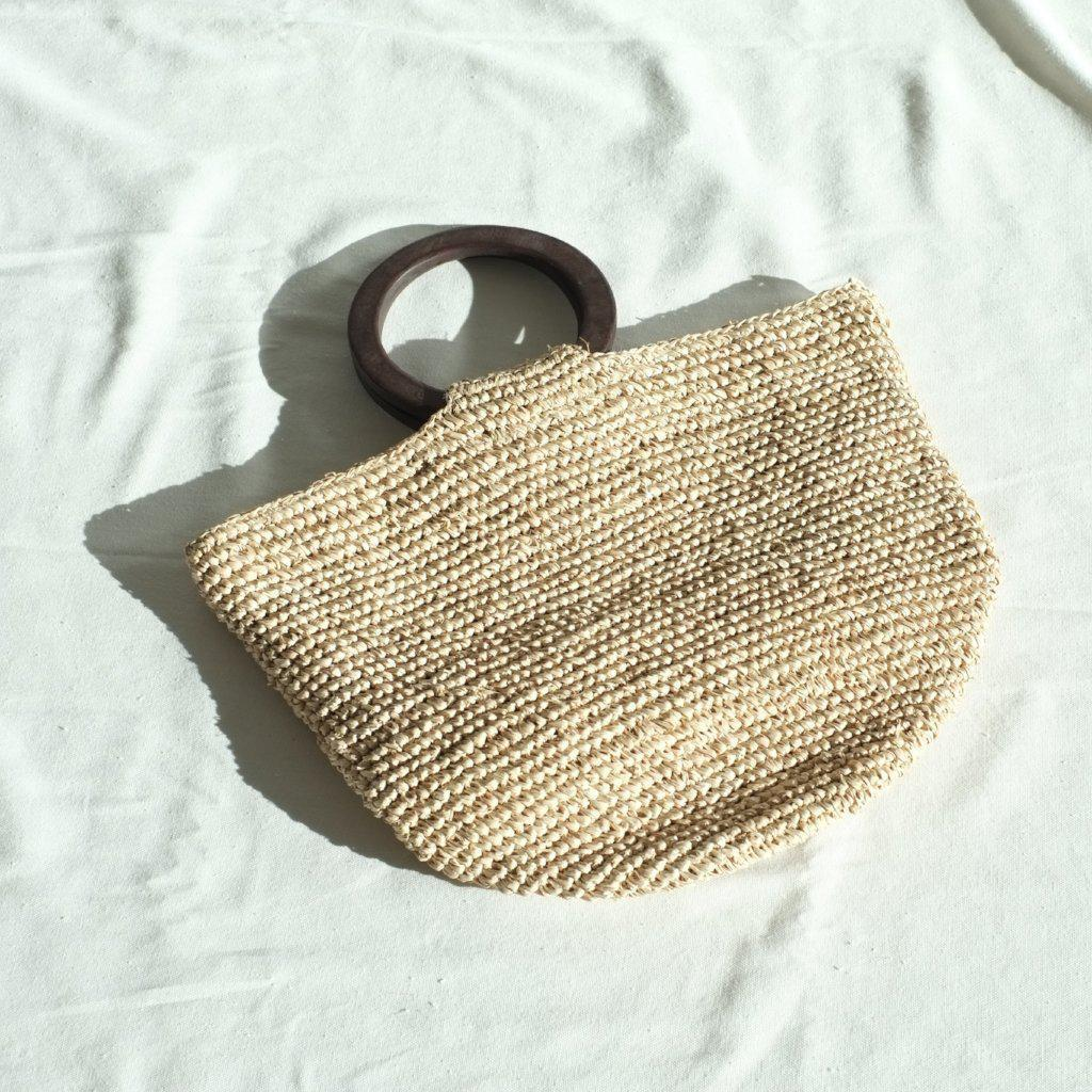 Aequem.com Shop Women's Ethical Fashion & Women's Sustainable Fashion Cora Tote Bag - Brown-Tote Bags-INNÉ Studios