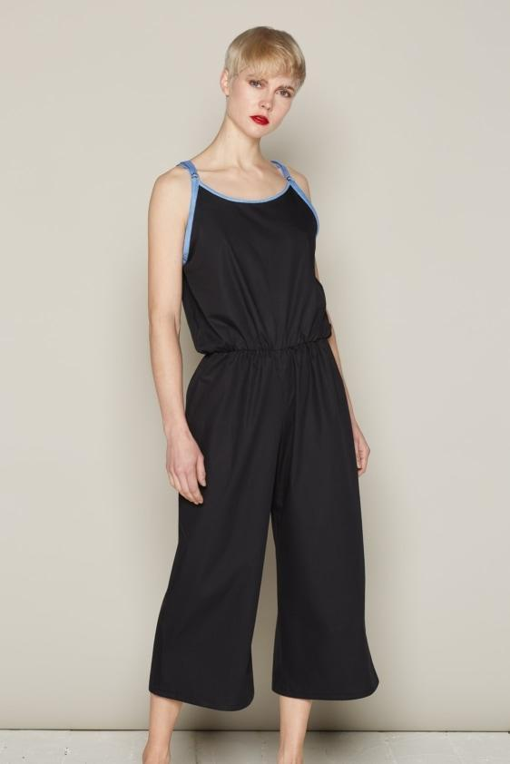 Aequem.com Shop Women's Ethical Fashion & Women's Sustainable Fashion Eddie Jumpsuit - Black-Jumpsuits-Bo Carter (UK)