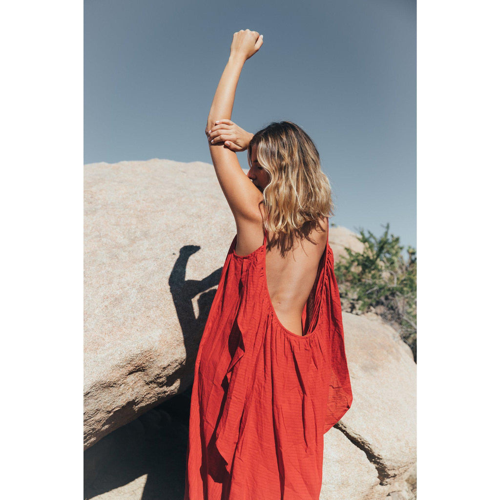 Aequem.com Shop Women's Ethical Fashion & Women's Sustainable Fashion Es Vedra jumpsuit in Wild Heart-Jumpsuits-A Perfect Nomad