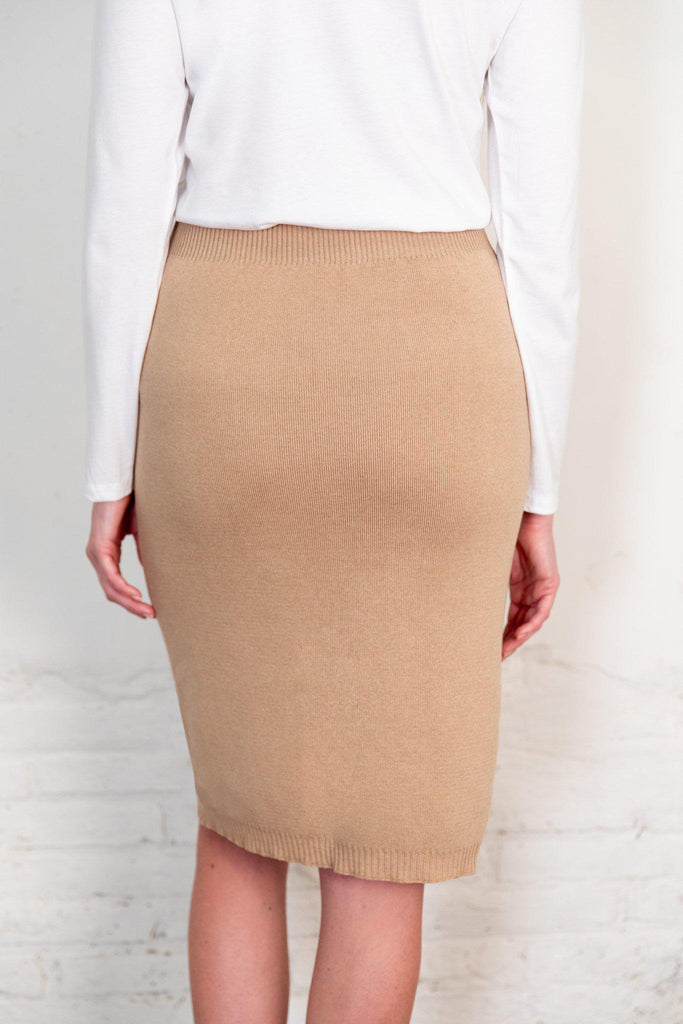 Aequem.com Shop Women's Ethical Fashion & Women's Sustainable Fashion Fapun Skirt in Brown-Skirts-The Nordic Leaves