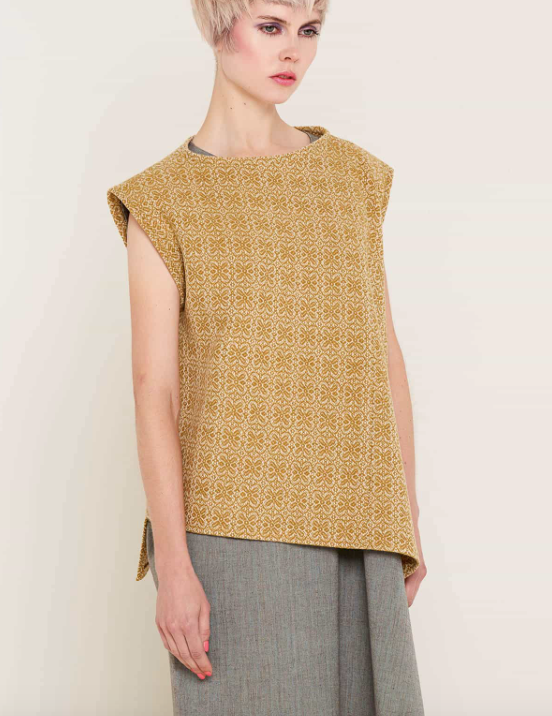 Aequem.com Shop Women's Ethical Fashion & Women's Sustainable Fashion Jane Orange Top-Tops-Bo Carter (UK)