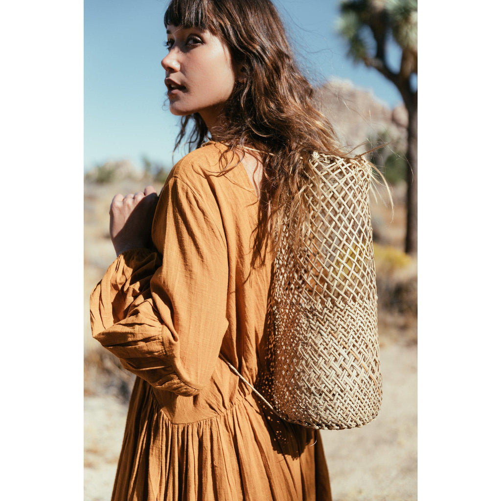 Aequem.com Shop Women's Ethical Fashion & Women's Sustainable Fashion Open Weave Borneo Backpack-Backpacks-A Perfect Nomad