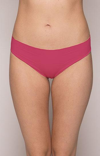 Aequem.com Shop Women's Ethical Fashion & Women's Sustainable Fashion Organic Cotton Seamless Knickers in Strawberry Red-Underwears-Amaella (UK)