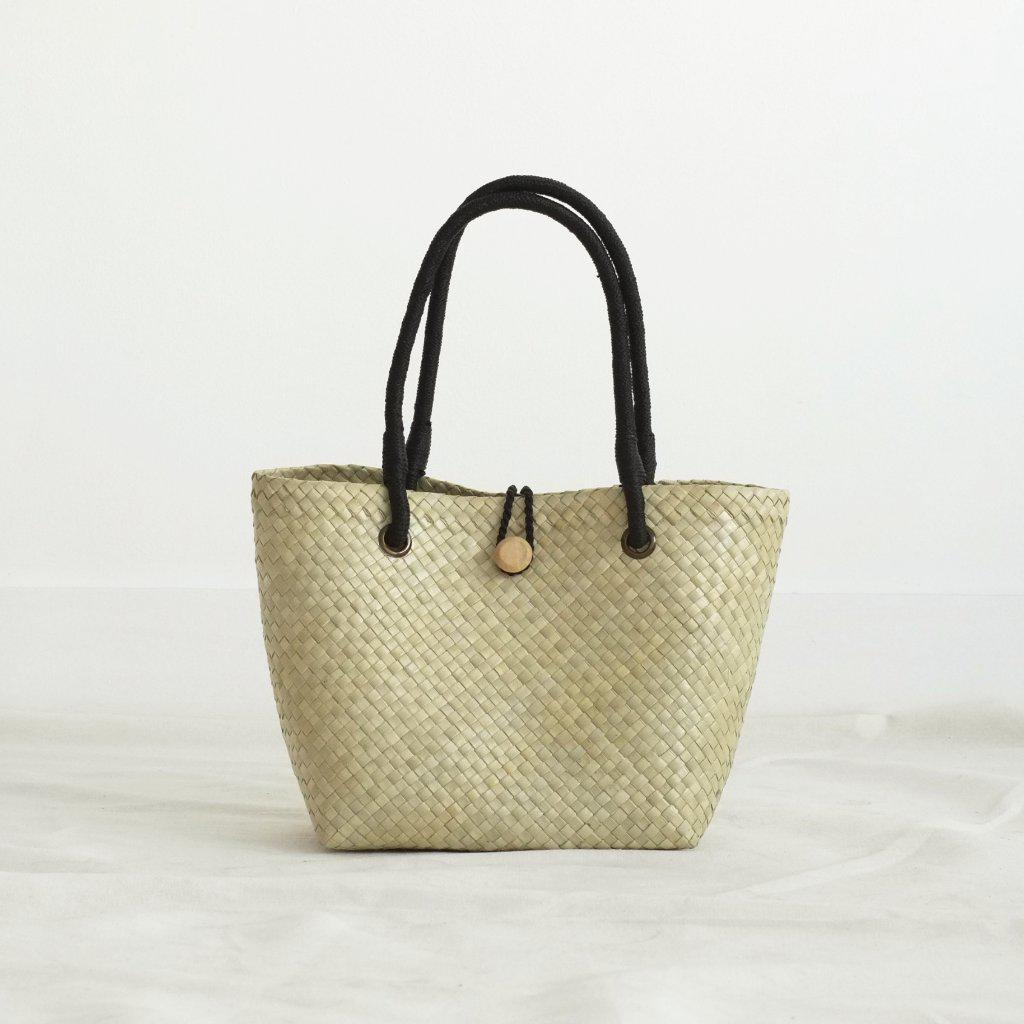 Aequem.com Shop Women's Ethical Fashion & Women's Sustainable Fashion Paulina Petite Tote Bag - Black-Tote Bags-INNÉ Studios