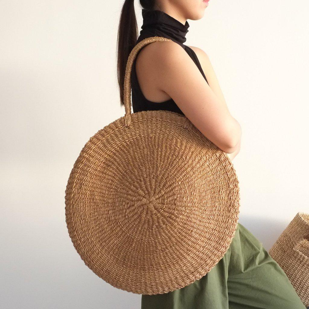 Aequem.com Shop Women's Ethical Fashion & Women's Sustainable Fashion Sola Maxi Bag - Camel-Bags-INNÉ Studios