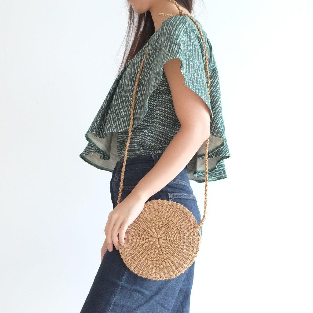 Aequem.com Shop Women's Ethical Fashion & Women's Sustainable Fashion Sola Multi Bag - Camel-Bags-INNÉ Studios
