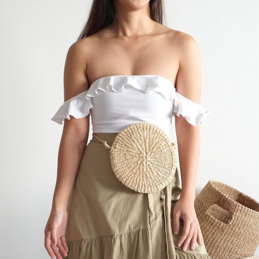 Aequem.com Shop Women's Ethical Fashion & Women's Sustainable Fashion Sola Multi Bag - Natural - Mini-Bags-INNÉ Studios