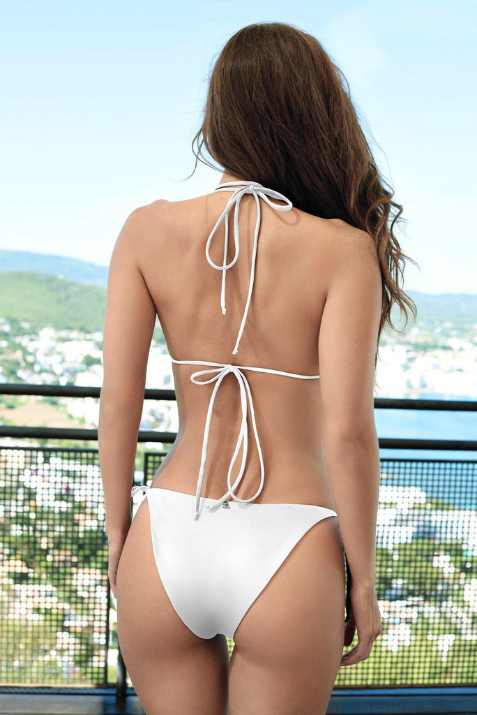 Aequem.com Shop Women's Ethical Fashion & Women's Sustainable Fashion Tasman Bikini in White-Bikini Sets-WeAreNativ (UK)