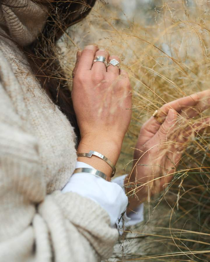Aequem.com Shop Women's Ethical Fashion & Women's Sustainable Fashion TINY CUFF-Jewellery-Another Jewel