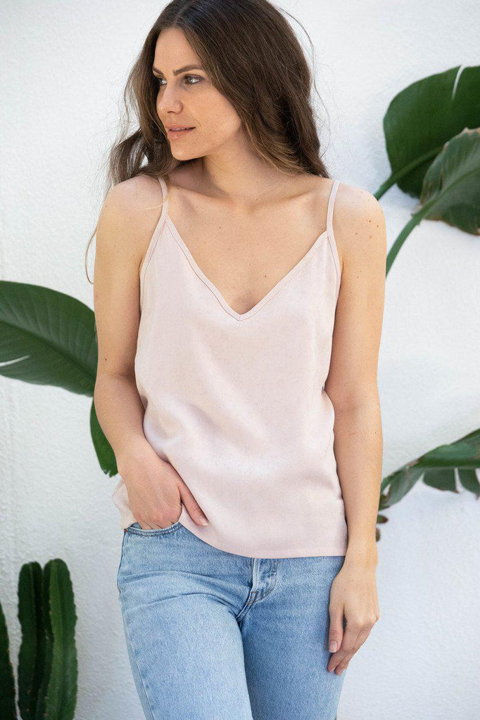 Aequem.com Shop Women's Ethical Fashion & Women's Sustainable Fashion Top Adénia in pink-Tops-AVANI