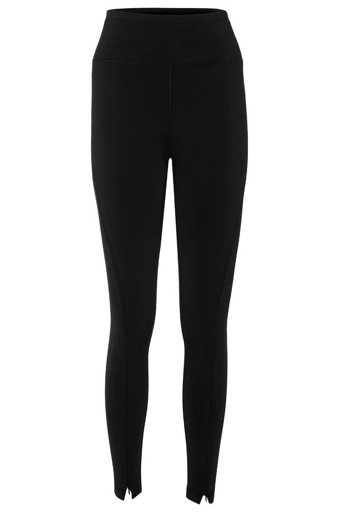 Aequem.com Shop Women's Ethical Fashion & Women's Sustainable Fashion Twisted Leggings in Black-Activewear-Asmuss Clothing (UK)