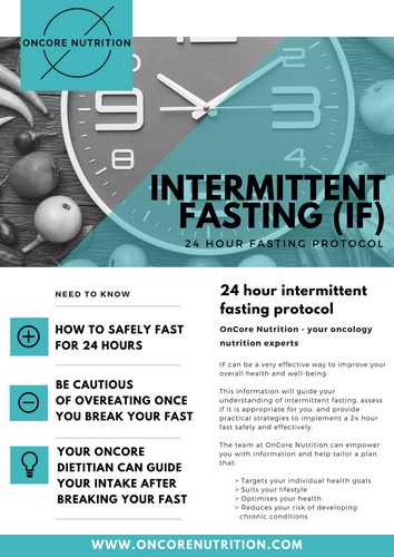 24 hour fast Intermittent Fasting Guide