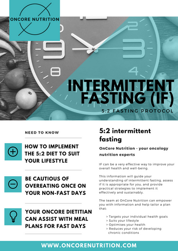 5:2 Intermittent Fasting Guide