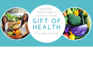OnCore Nutrition Gift Voucher - 4 consult pack (1 x initial plus 3 x review consultations)