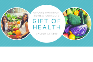 OnCore Nutrition Gift Voucher (eVoucher) - 5 x review consultations