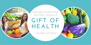 OnCore Nutrition Gift Voucher (eVoucher) - review consultation