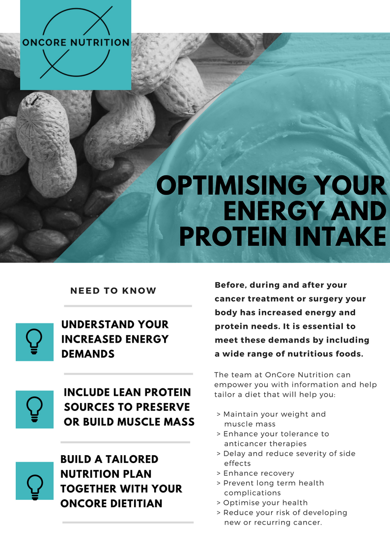 Optimising your energy and protein