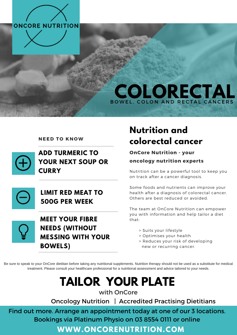 Colorectal Cancer Oncore Nutrition