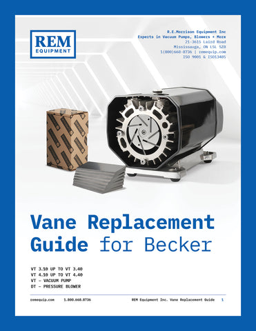 REM Equipment Vane Replacement Guide for Becker
