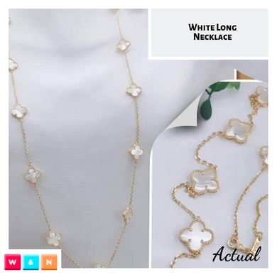 Clover Long Necklace