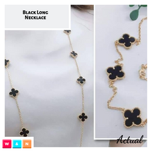 Load image into Gallery viewer, Clover Long Necklace