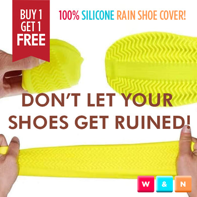 BUY 1 GET 1 FREE!! SILICONE RAIN SHOE COVER