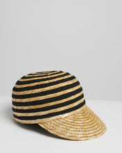 Load image into Gallery viewer, Kate and Confusion Straw Ladies Cap