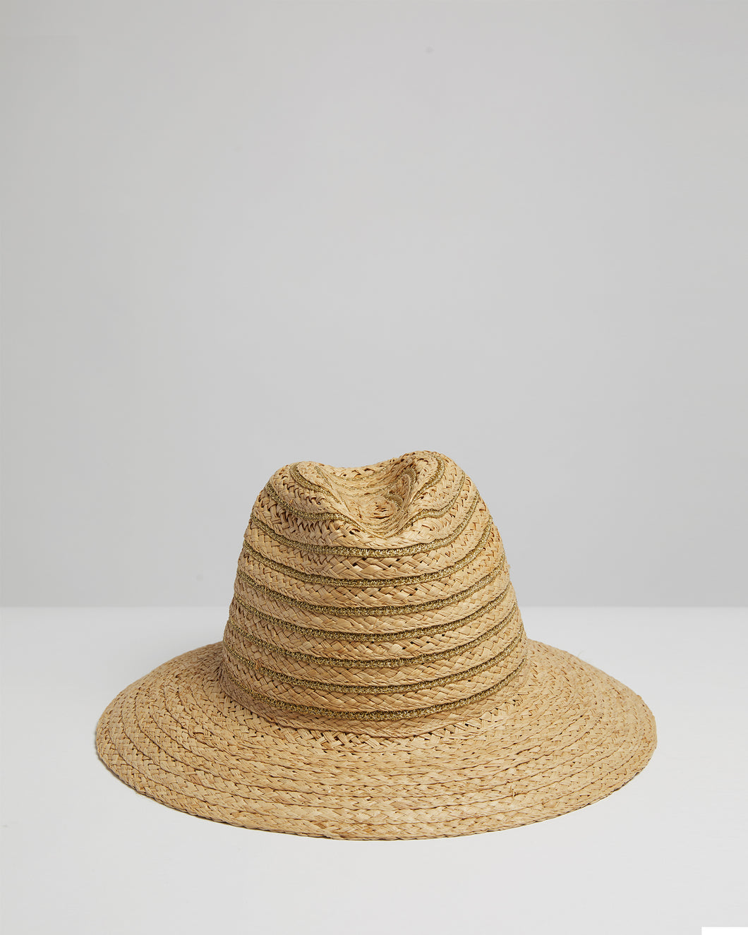 Kate and Confusion straw raffia ladies fedora hat