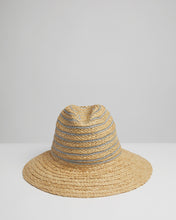 Load image into Gallery viewer, Kate and Confusion ladies straw summer fedora hat