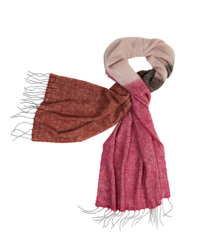 kate and confusion pink wool scarf shawl