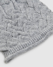 Load image into Gallery viewer, kate and confusion grey chevron wool knit ladies beanie