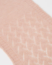 Load image into Gallery viewer, Kate and Confusion pink wool alpaca ladies scarf