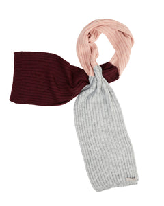 Kate and Confusion pink wool scarves