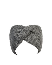 Load image into Gallery viewer, kate and confusion grey wool knitted headband