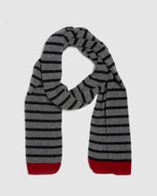 Load image into Gallery viewer, Kate and Confusion wool knit ladies stripe scarf