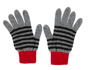 Kate and Confusion ladies stripe wool glove
