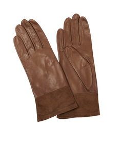 Taupe Vail Women's Leather Gloves